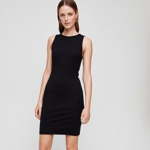 Aritzia Babaton Miguel Black Sleeveless Dress 4